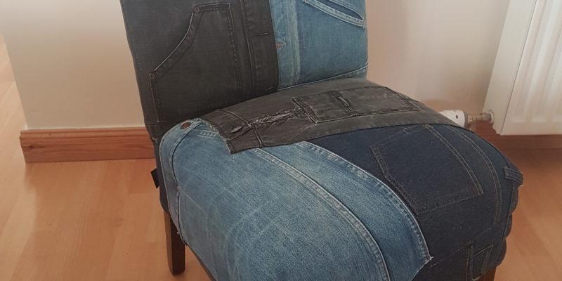 Denim Nursing Chair
