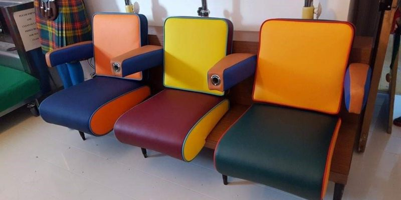 Retro Hairdressing Chairs