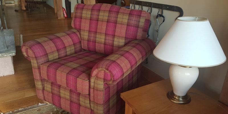 Tartan Lodge Armchair